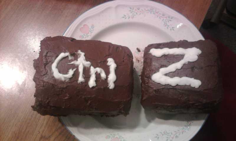 ctrl-z Shalanah Backus Student Cake